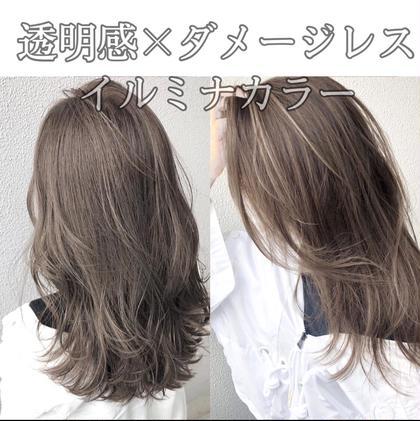 【光色イルミナカラー】イルミナカラー+超音波トリートメント♡