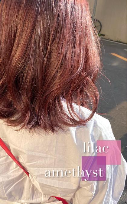 人気NO.1✨艶&高彩度発色✨カット+透明感カラー