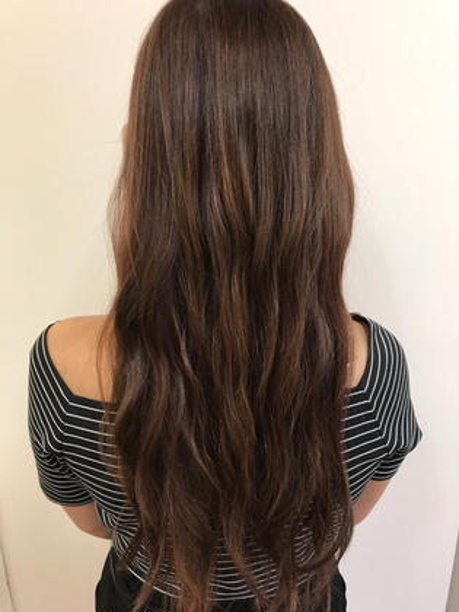 イルミナカラーで ベージュベースに パープルのホイルを入れました! hair&spa   an  contour所属・石原ナナのスタイル