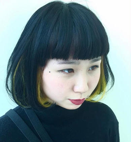 インナーカラー siro所属・ヤスドミケイスケのスタイル