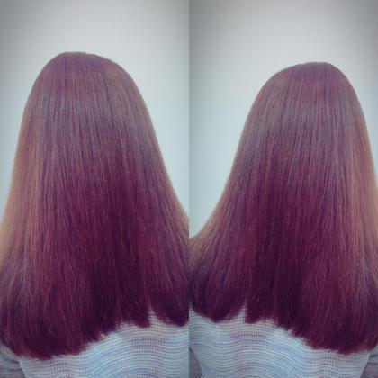 トーンアップ オージュア髪質改善コースでパサつきと広がりを改善! hair&dayspa   AGU所属・佐藤茉那のスタイル
