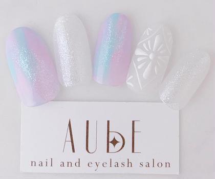 Nail&EyelashSalonAUBE所属のNARIYAMANORIKOのネイルデザイン