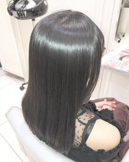 ❣️前髪縮毛矯正➕ケアトリートメント❣️
