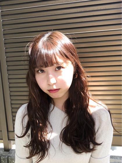 ★平日3名様限定★前髪カット&カラー