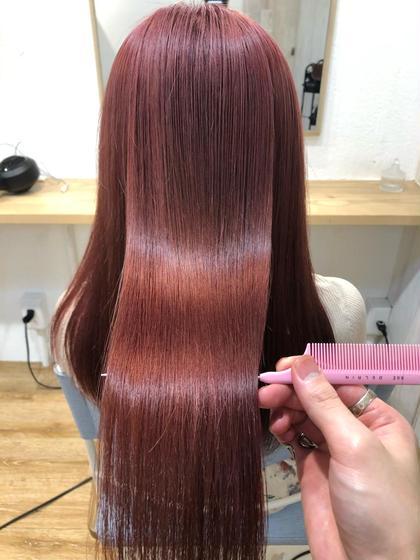 話題の髪質改善付!うる艶カラー+最上級髪質改善『ULTOWA』トリートメント💖