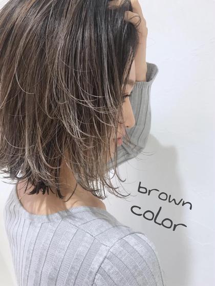 🌈❤️💜外国人風ハイライト➕ダメージレスカラー➕髪質改善トリートメント➕バングカット➕ブロー料金込み❤️💜🌈