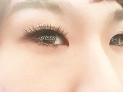 上下付け放題♥ 上まつげ➡️ボリュームラッシュ 濃さだけじゃない✨スッと伸びる繊細まつげ eyelashsalonSHEER所属・武田美紀のフォト