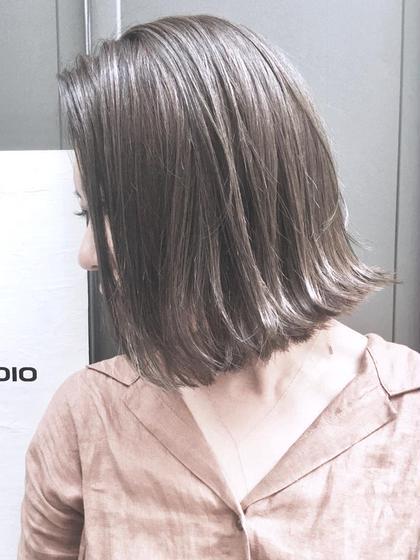 😄☆千葉No1獲得☆カット+ミルキーカラー+Wはちみつトリートメント😄