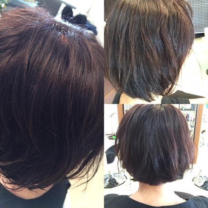 グレイカラー(白髪染)でもベリピ! R's hair所属・福田竜士のスタイル