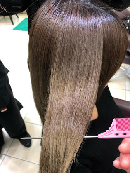 ❣️圧倒的ツヤ感✨髪質改善プレミアム縮毛矯正✨
