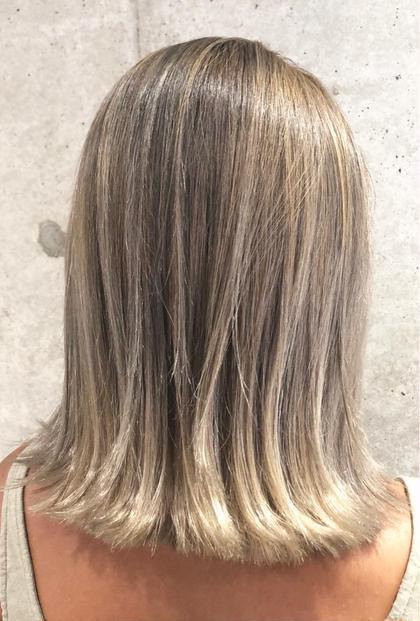 🌟超傷まないケアブリーチ🌟ダメージレスブリーチ+オンカラー+カット+TOKIOトリートメント💗髪に優しさを💗