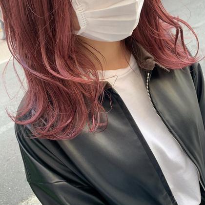 ハイトーン好き外人っぽナチュラル女子さんに!カット➕ブリーチ×カラー➕髪質改善潤いtr