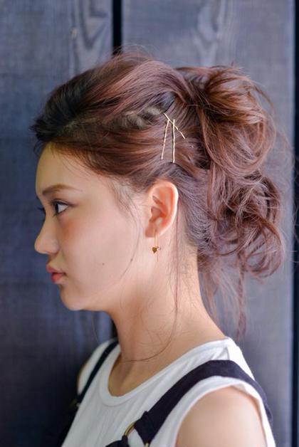 簡単なヘアアレンジもお受けいたします! HAIR&MAKE POSH 門前仲町所属・垣花篤史のスタイル