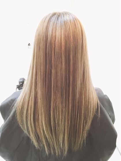 ハイトーンハイライト hair.make所属・西尾聡のスタイル
