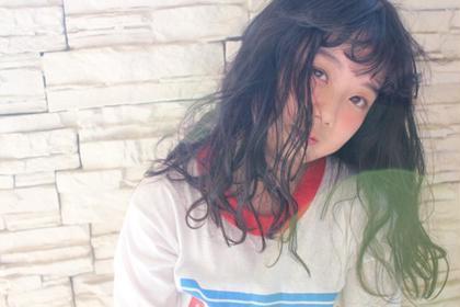 ロング 撮影モデル Hair Atelier Nico所属・佐々木由香のスタイル