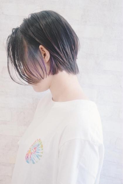 """【1日3名様限定】""""インナー or 裾 カラー"""" bleach込"""
