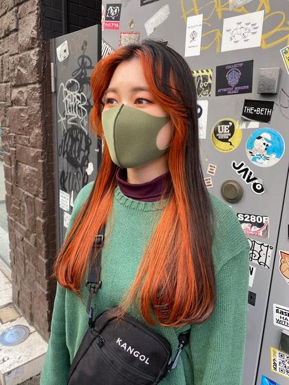 【期間限定】⭐️フェイスフレーミングカラー⭐️サブカル・韓国スタイル⭐️