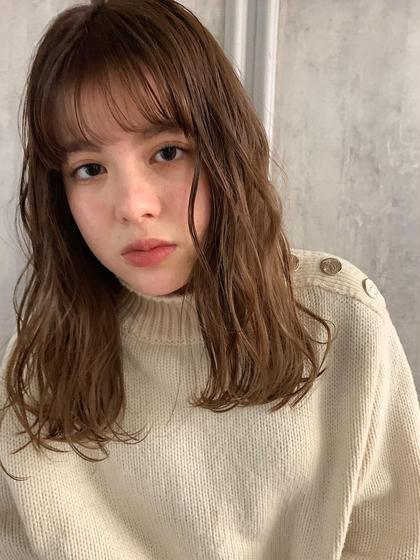 【イチオシ】4.5月限定美髪カット+THROWカラー+集中補修5stepトリートメント