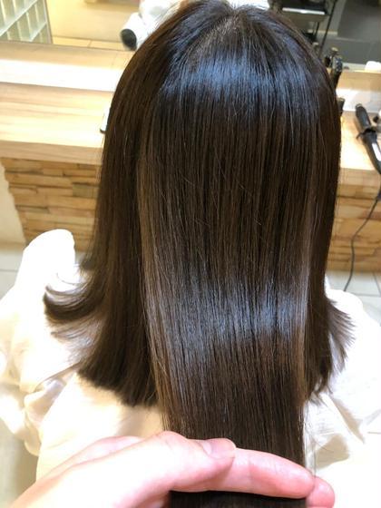 【✨✨髪質改善✨✨】骨格補正カット+うねり無しストレートパーマ