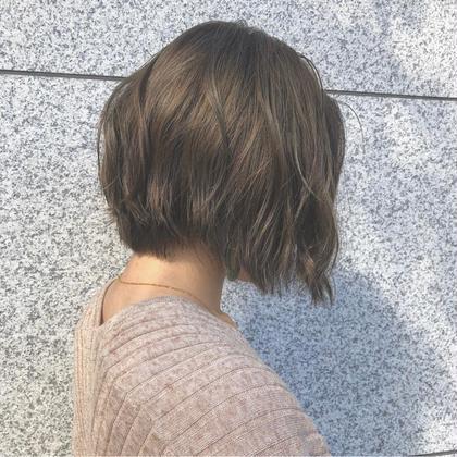 【🌈贅沢メニュー🌈】カット+【イルミナorアディクシーCR】+【oggi or TOKIO】トリートメント