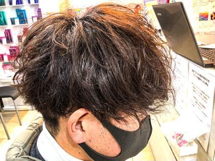 【ご来店4回目以降の方限定】エモかっこいい髪型にしましょう✨ 似合わせカット+スパイラルパーマ🥀