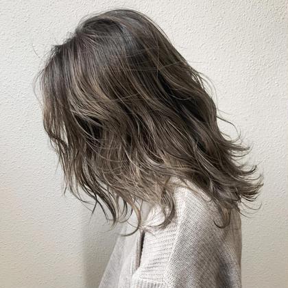 髪質改善ホリスティックイルミナカラー+卵殻トリートメント✨
