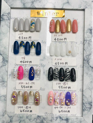 NailSalon Ace所属のACE受付担当のネイルデザイン
