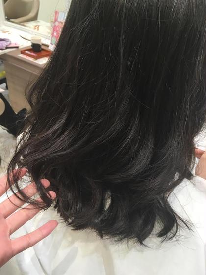 ブリーチなしでも透明感たっぷりカラー✨ Ash八幡山所属・stylist.梶沼姫夏のスタイル