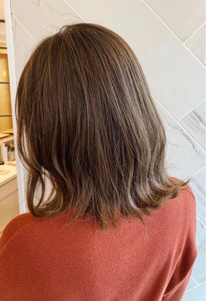 💓あなただけの特別な髪へ💓モテ髪カット➕オーガニックフルカラー➕艶TR➕スパ