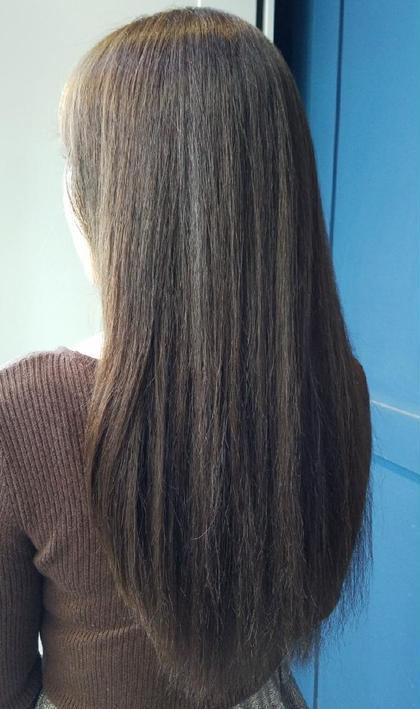 サラ艶縮毛矯正