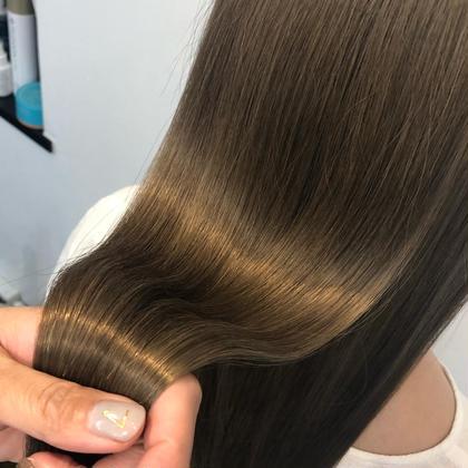 ✨髪質も髪色もこのクーポンでOK👸韓国発🇰🇷シンデレラトリートメント&透明感カラー&メンテナンスカット✨人数限定有
