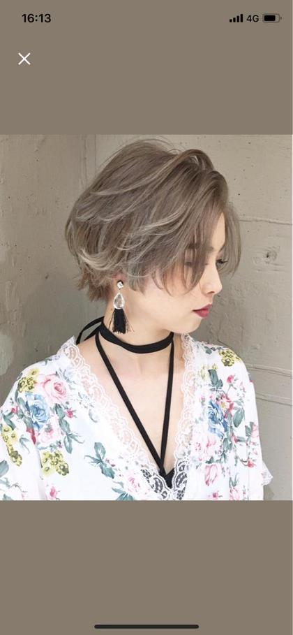 ショートレイヤースタイル stylist浅川達哉のショートのヘアスタイル