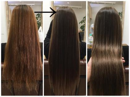 【いつものサロントリートメントより効果のあるカラー】カラーによる毛髪強化! AINEE所属・小沢秋義のスタイル