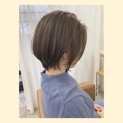 ☘【カット× ハホニコトリートメント】コテ巻きアレンジ