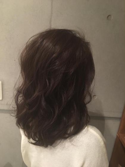 シングルカラー  neeyU所属・阿部愛加のスタイル