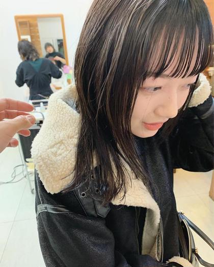 🔹こだわりの似合わせ!前髪カット🔹お客様のお悩みやこだわりに応えられる前髪にカットさせて頂きます!是非お任せを!