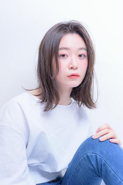 《大人気♡》前髪カット&モロッカンカラー(又は白髪染め)&ハホニコトリートメント