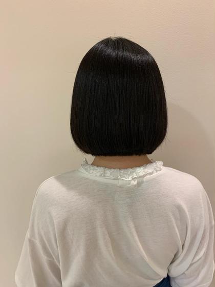 【全体的にうねり広がりの気になる方!サラサラストレートに仕上げます◎✨】縮毛矯正 × うる艶トリートメント❤️