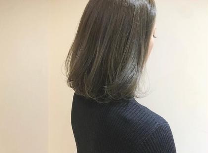 💛平日17時まで限定💛カット+ヴェールカラー+毛髪強度140%UP!TOKIOインカラミトリートメント✨✨