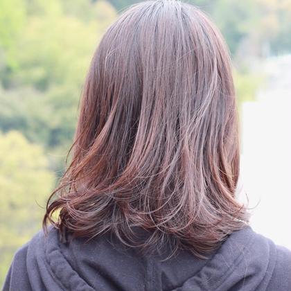 【新規の方限定 周りに褒められる髪色へ】透明感カラー+3ステップトリートメント