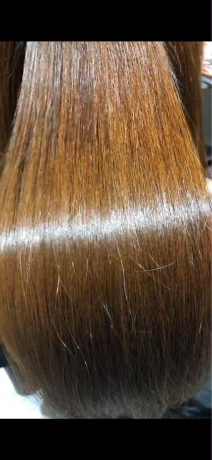 カット+ヘアカラー+髪質改善縮毛矯正+トリートメント
