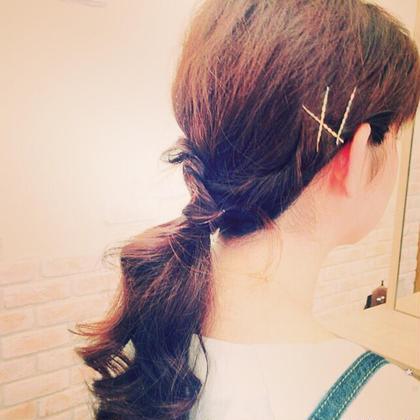 ダウンスタイルの簡単アレンジヘア  パザパミニヨン所属・金子アキカズのスタイル