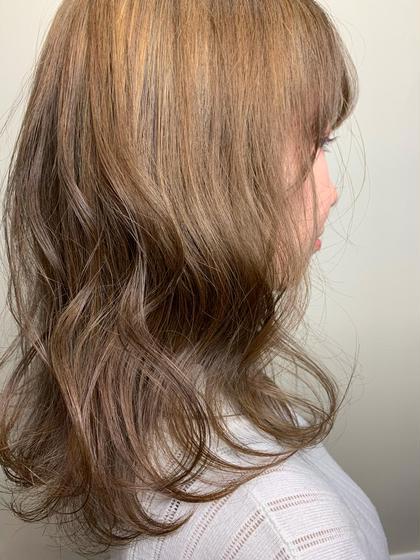 【透明感抜群💎】ワンカラー&髪質改善トリートメント🤍