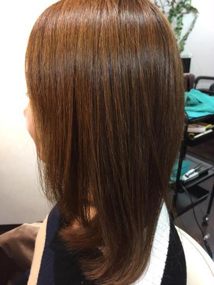 酸性縮毛矯正デジアナストレート&パーマ