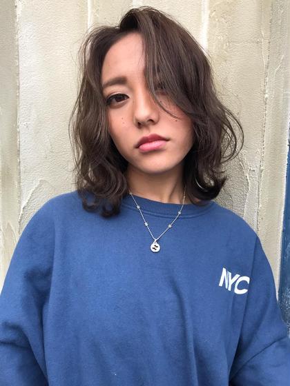 【#アオハル】カット&デジタルパーマ