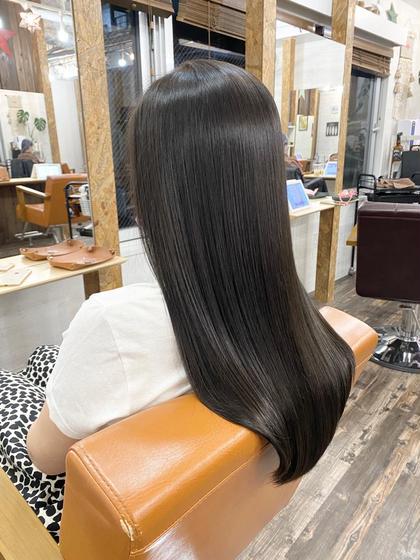 ✨【髪質改善】ULTOWA(ウルトワ)高濃度水素TR+コスメ縮毛矯正+カット✨