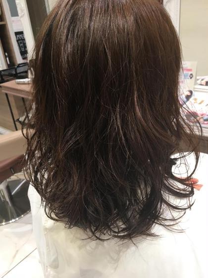 似合わせカット & 巻いたような質感✨デジタルパーマ+毛髪補修トリートメント❣️