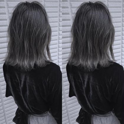 最近オーダーの多い【 バレイヤージュ × ハイライト 】 です ☺︎   高江秀聡のヘアスタイル・ヘアカタログ