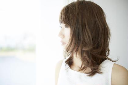 外ハネミディアム☆ U.hair所属・齊藤章悟のスタイル