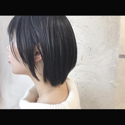 その他 カラー ショート Real salon work✂︎ [レザー✂︎ショートレイヤーボブ] . 直毛、多毛さんは レザーカットで厚みをとりながら柔らかな質感を☆ . コテなし楽チンwet styling ✔️ 暗髪&トウメイ感colorでセンシュアルに。 . . . #NAKAIstyle #レイヤーボブ#ショートレイヤー#ボブ#レザーカット#ショートヘア#暗髪#ダークアッシュ#ファッション#ootd#ハイカジュアル#お客様カットカラー